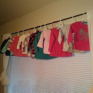 12 piece 12 month long sleeve tops